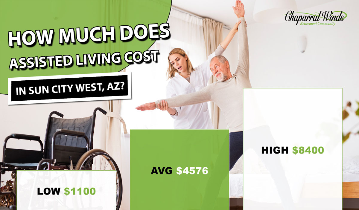 Assisted Living Cost Sun City West. AZ   2019 Average Prices - CWRC