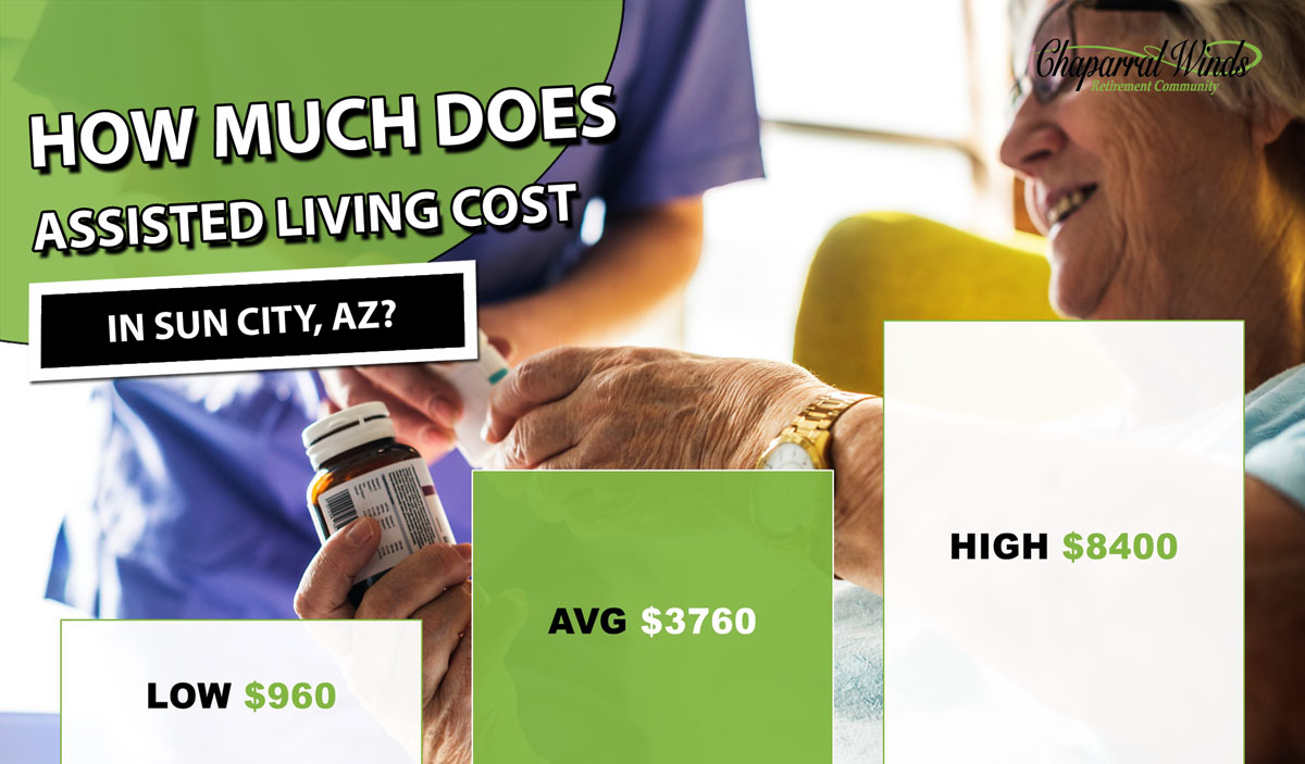 Assisted Living Cost Sun City. AZ   2019 Average Prices - CWRC