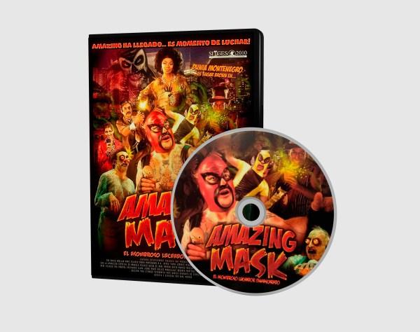 Amazing Mask. El asombroso luchador enmascarado - DVD