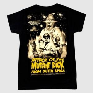 """Camiseta de """"El Ataque del Pene Mutante del Espacio"""""""