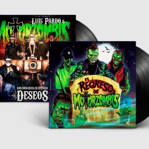 Pack LP: El Regreso De Motorzombis + Deseos (con Luis Pardo)