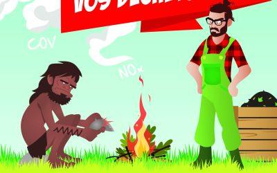 Non au brûlage des déchets verts !