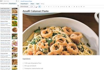 Squid healthy recipes