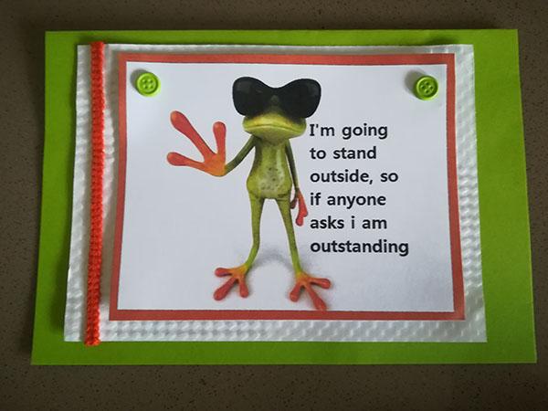 Glenda sent me fabulous gifts
