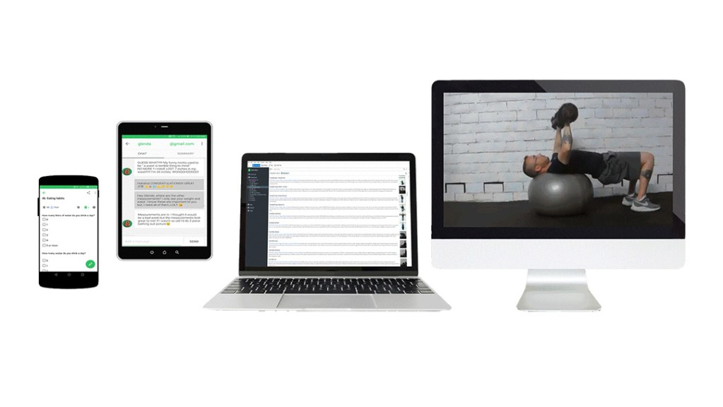 The definitive tool for online training, Evernote, Evernote for fitness, workout, diet, online training