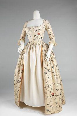 1784 Dress (Robe à l'Anglaise)