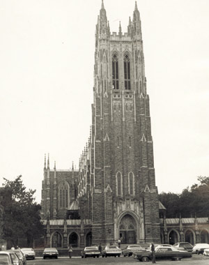 The Building Duke University Chapel