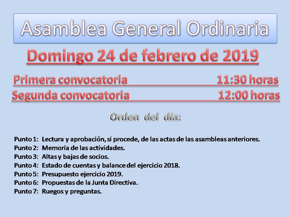 Asamblea 24 febrero