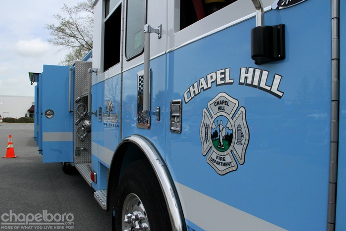 No Injuries Reported in Residential Chapel Hill Fire