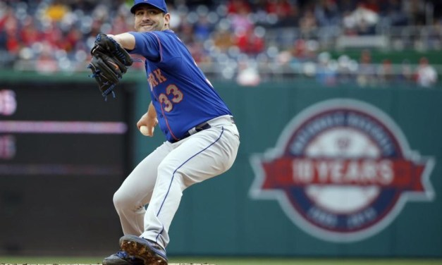 Tar Heels in the Pros: Matt Harvey