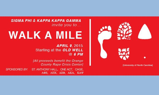 UNC Greek Organizations 'Walk a Mile' Against Sexual Assaults