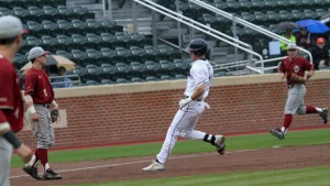 The Tar Heels had no problems moving runners and scoring runs on Wednesday. (UNC Athletics)