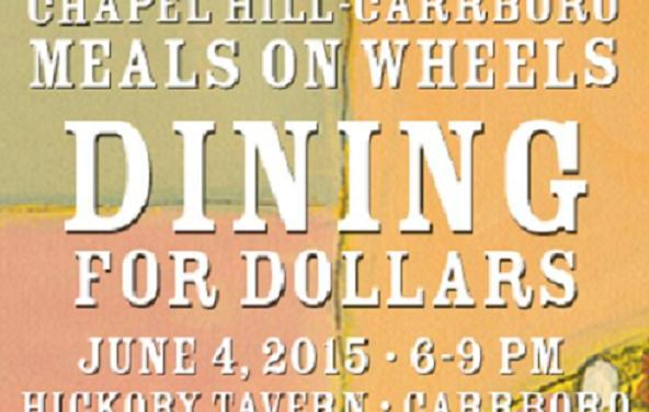 Meals On Wheels To Host 'Dining For Dollars'