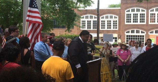NAACP Protests Hillsborough 'Ride and Rally'