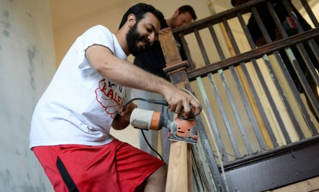 UNC Students Honor Shooting Victims with Day of Service
