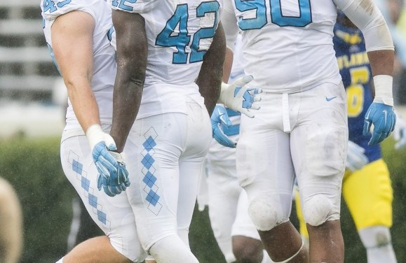 Two UNC Football Players Named to Tropic Bowl Roster