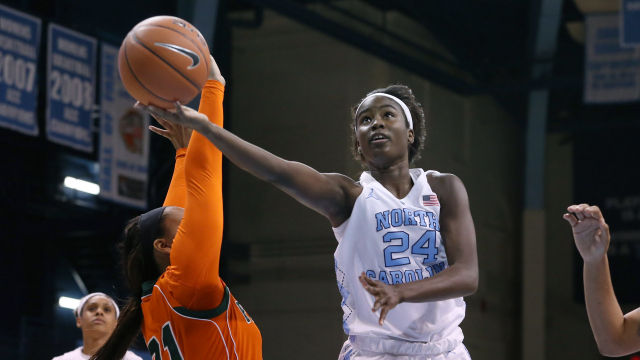 UNC Women's Basketball Dominates Florida A&M