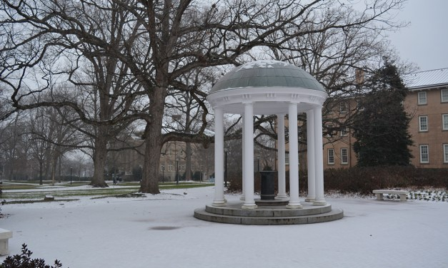 Snow and Ice in Chapel Hill and Hillsborough