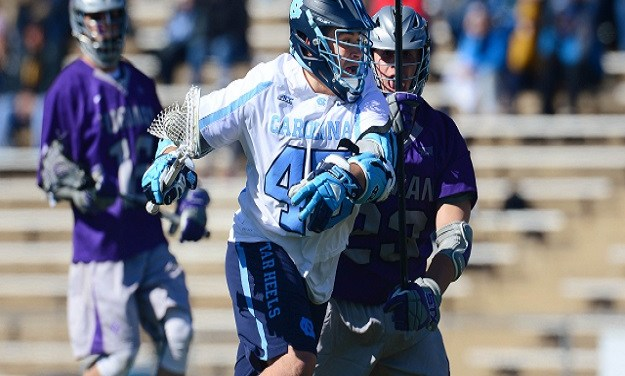 Tar Heel Attacker Chris Cloutier Named National Men's Lacrosse Offensive Player of the Week