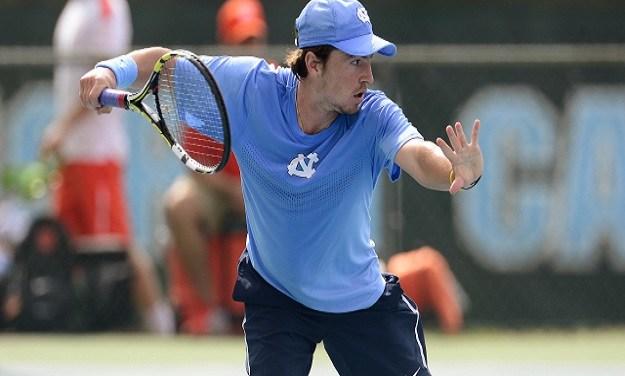 UNC Men's Tennis Advances Past College of Charleston