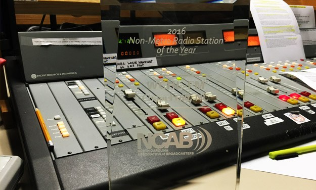 WCHL Selected as NCAB Radio Station of the Year
