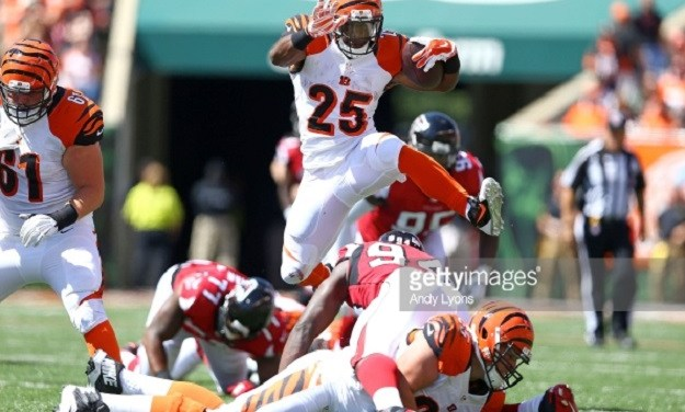 Bengals Sign Gio Bernard to Three-Year Extension