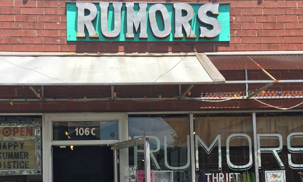 Rumors: Chapel Hill's Thrift Boutique