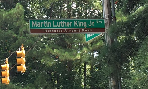 Name it Martin Luther King Jr. Blvd Only