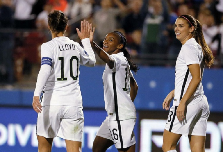 U.S. Women's Soccer Clinches Group at Rio Olympics