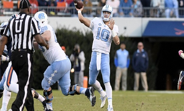 UNC Football Up to No. 21 in Latest AP Top 25