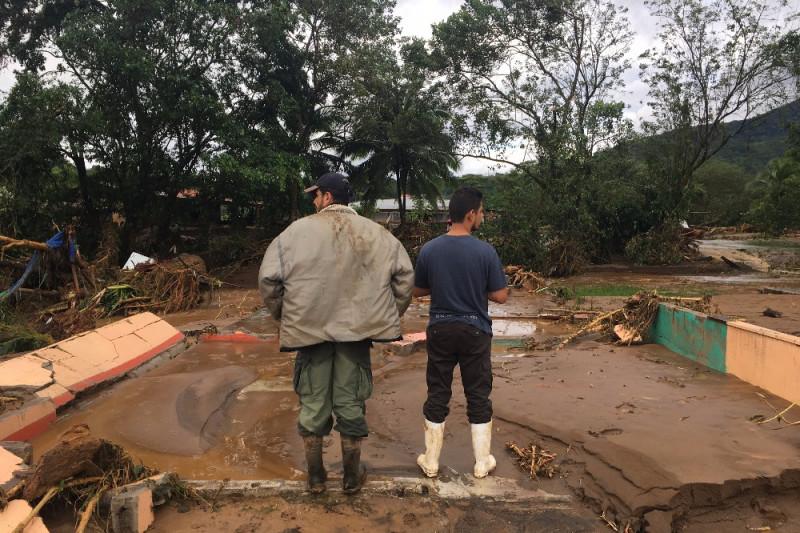 Bijagua Hit Hard By Hurricane Otto