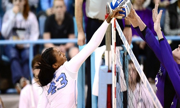 UNC Volleyball Sets NCAA Attendance Record in Win Over Virginia Tech