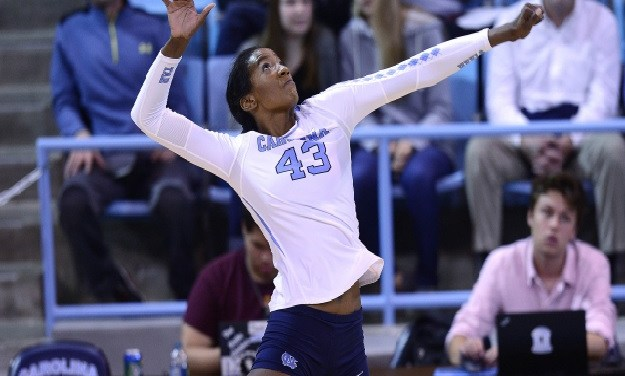 Three Tar Heel Volleyball Players Earn All-ACC Academic Honors