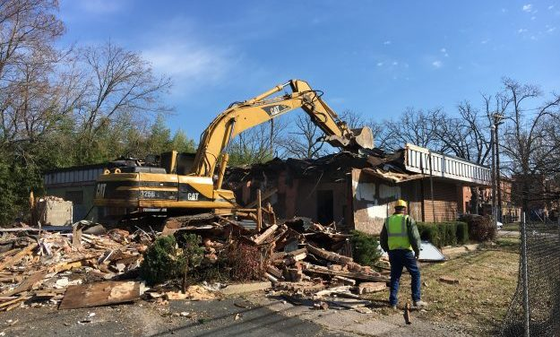 CVS-Owned Building in Carrboro Demolished
