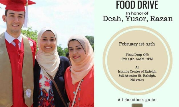 Our Three Winners Food Drive Brings Town Together