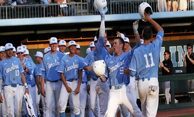 Miller's Two-Run Homer Lifts No. 9 UNC Baseball Past Radford in Series Opener