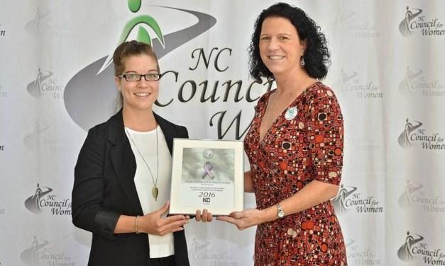 County Rape Crisis Center Wins Purple Ribbon Award