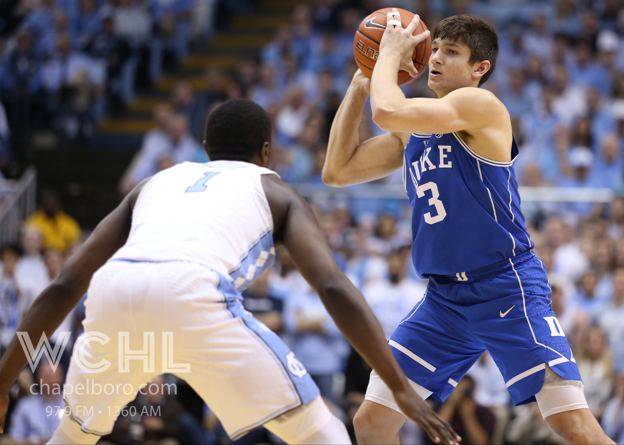 Tar Heels battle past Blue Devils for rivalry win