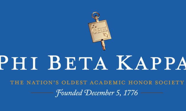 Phi Beta Kappa Inducts 150 UNC-Chapel Hill Students