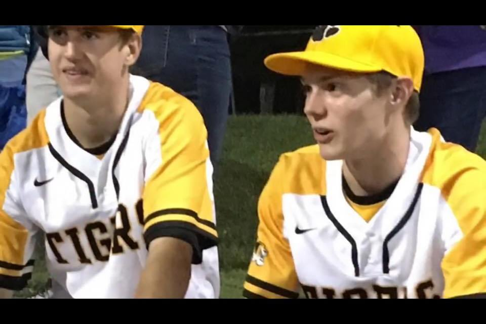 WCHL High School Baseball – Chapel Hill Tigers vs. Carrboro Jaguars – April 10, 2017