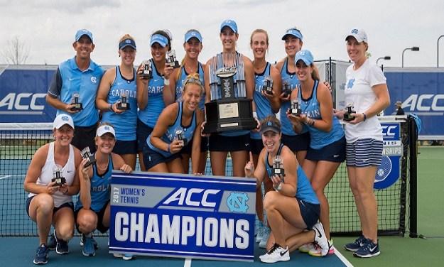 UNC Women's Tennis Edges Out Georgia Tech for ACC Title