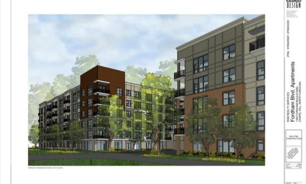 Chapel Hill Approves 272-Unit Fordham Boulevard Apartments