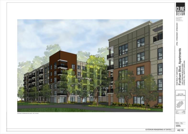 Chapel Hill Approves 272-Unit Fordham Boulevard Apartments