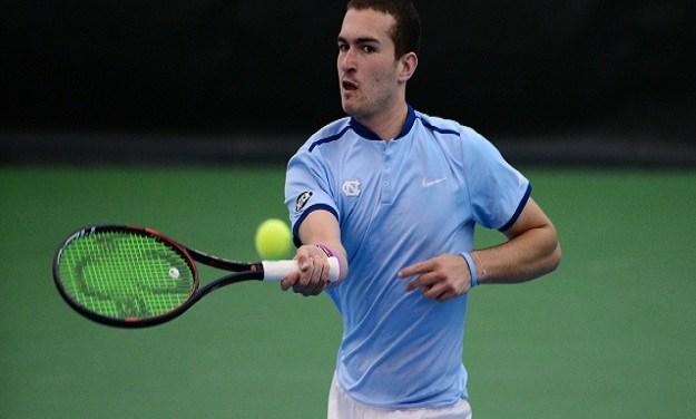 Men's Tennis: Blumberg Earns Spot in NCAA Singles Final, First in UNC History