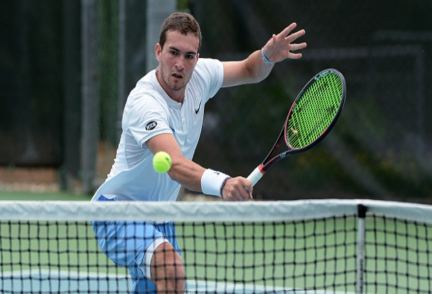 Men's Tennis: UNC's William Blumberg Upsets No. 1 Mikael Torpegaard to Advance to Tulsa ITA All-American Singles Final