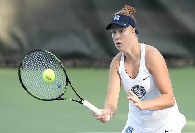 Five UNC Women's Tennis Players Listed in ITA Preseason Rankings