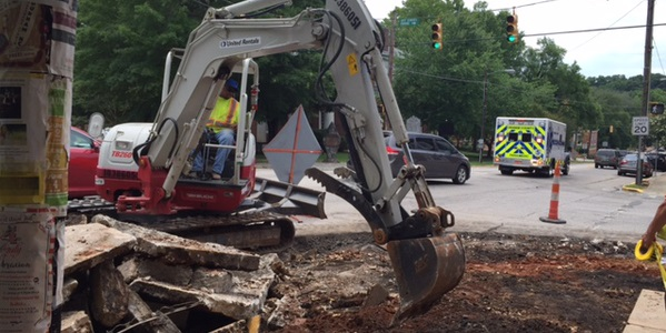 Demolitions Continue Along Churton Street in Hillsborough
