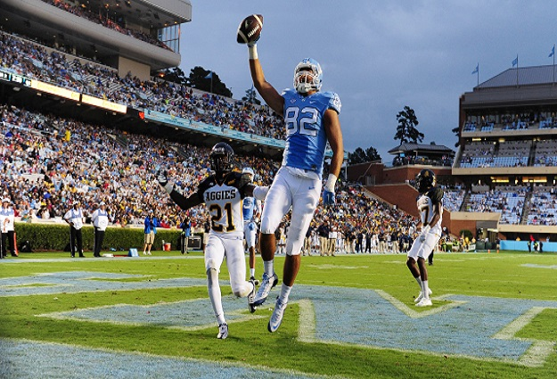 UNC Tight End Brandon Fritts Selected to Mackey Award Watch List
