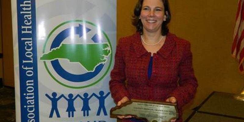 Dr. Colleen Bridger Named NC Health Director Of The Year
