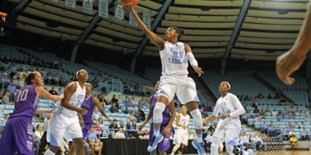 No. 9 Tar Heels Turning Heads Thanks To Dazzling Diamond